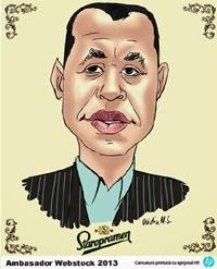 Caricatura Ambasador Webstock